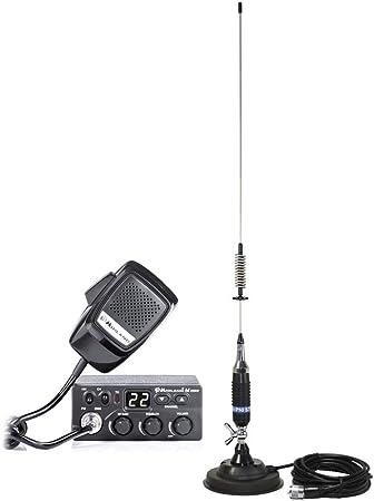 Estación de Radio CB Midland M Zero + Antena CB PNI S75 con ...