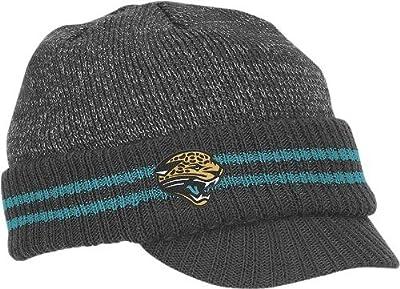 Reebok Jacksonville Jaguars Sideline 2nd Season Visor Knit Hat One Size Fits All