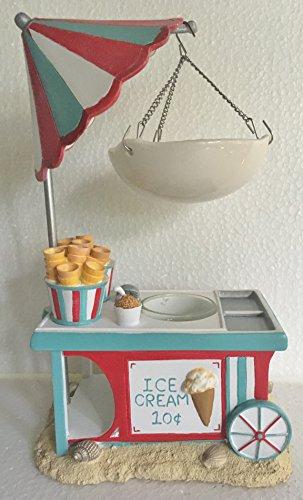 Yankee Candle Ice Cream Cart Hanging Tart Wax Burner/Warmer by Yankee Candle