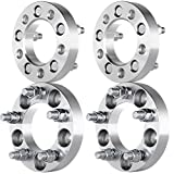 "Scitoo 4PCS 1"" 25mm 5x4.5 Bolt On 1/2"" Wheel Spacers Adapters For Ford Crown Victoria Explorer Jeep Grand Cherokee Lincoln Mercury"
