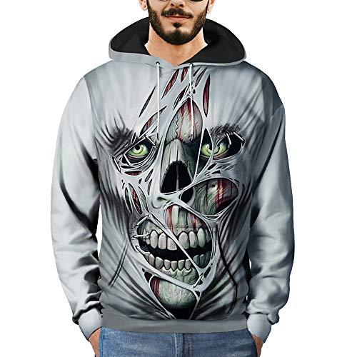 Manteau shirt T À Hauts Hoodie 3d Pullover Sport Capuche Sweats Gris Aimee7 Imprimé Hommes Cn68TRPq