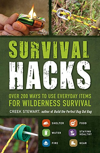 Book Cover: Survival Hacks: Over 200 Ways to Use Everyday Items for Wilderness Survival