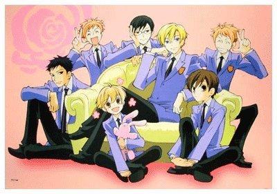 anime ouran high school host club high grade glossy laminated