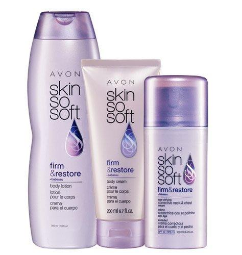 Avon SSS Skin So Soft FIRM & RESTORE