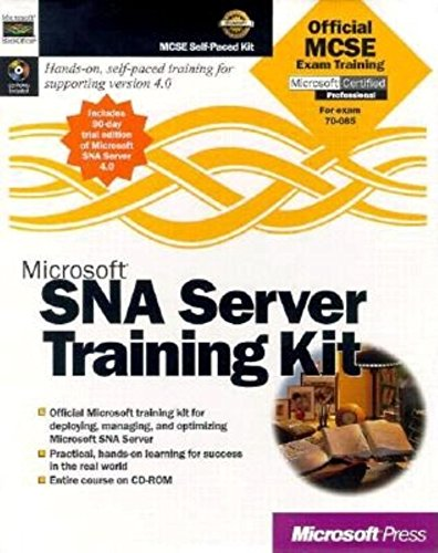 Microsoft SNA Server Training - Server Microsoft Sna