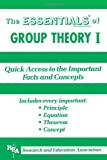 Group Theory I Essentials, Research & Education Association Editors, 0878916865