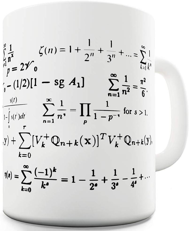 Twisted Envy Math Prime Numbers Ceramic Mug