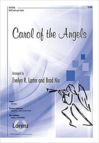 Carol of the Angels (Sacred Anthem, SATB, Piano)