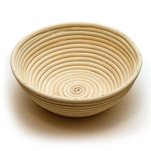 Happy Sales Round Proofing Basket Banneton Brotform 10 inch
