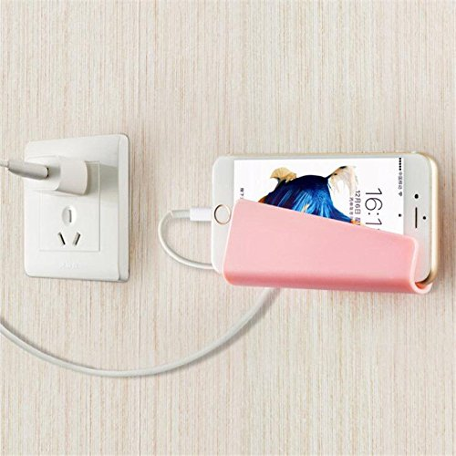 NPLE--1Pcs Hot Paste Phone Holder Safety Universal Wall Stand Delicate Durable Holder