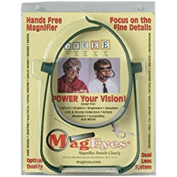 MagEyes Magnifier #2 and #4 Lenses