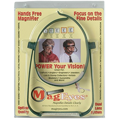 MagEyes Magnifier #2 and #4 Lenses (Mag Lens)