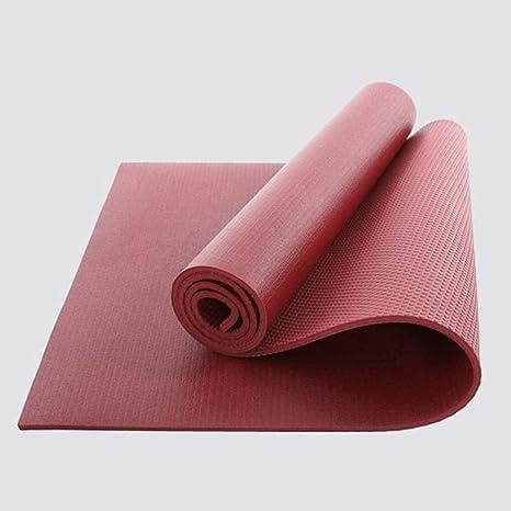 YOBOOW Colchonetas de Yoga de PVC Colchoneta de Gimnasia de ...