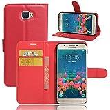 Capa Carteira Samsung Galaxy J7 Prime G610 - Vermelho