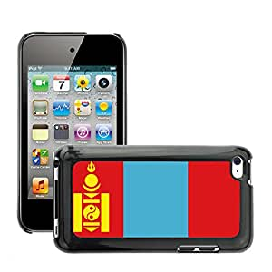 GoGoMobile Slim Protector Hard Shell Cover Case // V00001119 mongolia National Country Flag // Apple ipod Touch 4 4G 4th