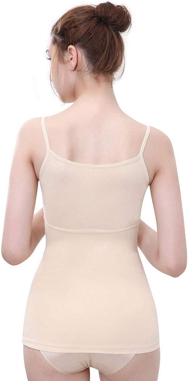 Everbellus Damen Shapewear Figurformender Top Bauchweg Unterhemd Tr/ägertop