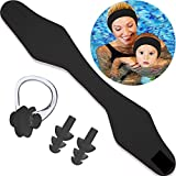 Blulu Swimming Headband Ear Headband Silicone Earplugs Nose Clip Plugs Ear Nose Protector Swimming Sets