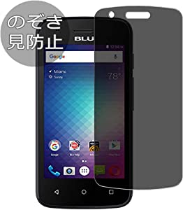 Synvy Privacy Screen Protector Film for BLU Dash L2 2016 Anti Spy Protective Protectors [Not Tempered Glass]