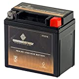 Rechargeable - Replacement YTZ7S High Performance Power Sports Battery - Chrome Battery