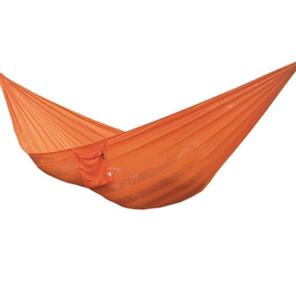 Ludage Outdoor-EIS Maschendraht Mesh Single Double Nylon Hängematte Größe: 250  150cm