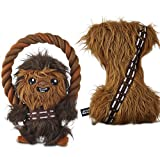 Best Star Wars Chew Toys For Dogs - Chewbacca Plush Bone and Pull Toy Small Review
