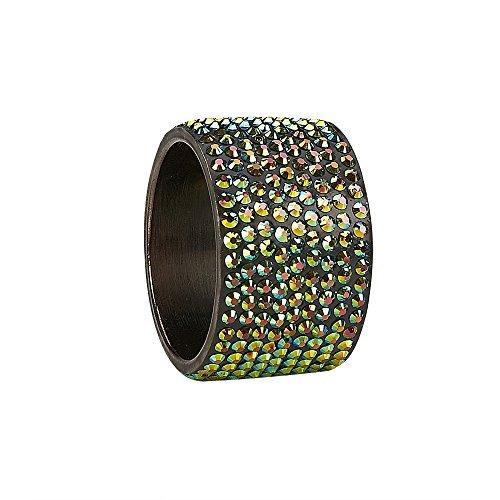 IMPULSE! Majesty Napkin Ring Multicolored Set of 4 [並行輸入品]   B079VNKH9W