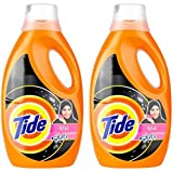 Tide Abaya Automatic Liquid Detergent with Essence of Downy 1.85 l Pack of 2 Pieces Special Offer