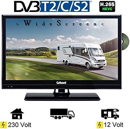 Gel Hard gtv2041 LED TV 20 Pulgadas Wide Screen DVB-T/S/S2/T2/C ...