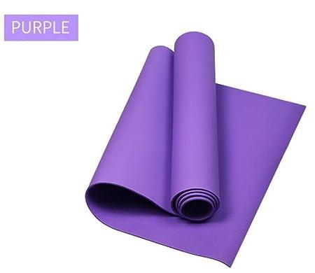 4MM PVC Esteras de yoga Manta antideslizante PVC Gimnasia ...