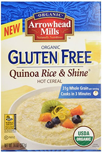 Arrowhead Mills Organic Gluten-Free Quinoa Rice & Shine Hot Cereal, 14 oz. - Arrowhead Mills Organic Oat