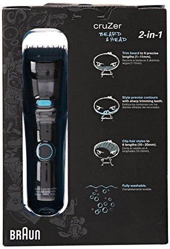 braun cruzer 5 beard trimmer 1 count trimmers braun beautil. Black Bedroom Furniture Sets. Home Design Ideas
