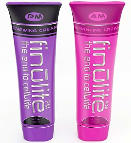 Finulite Cellulite Cream 2-Part AM/PM System 8oz (2 - 4oz Tubes)