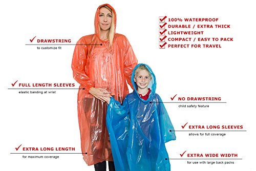 Buy rain ponchos