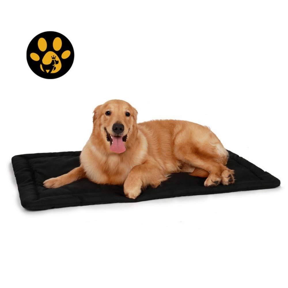 CSDA Personalizzato canile con Pet Materasso,Marronee Scuro