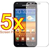 Screen Protectors Compatible With Samsung Galaxy S2 Epic 4G Touch D710-(5 Pieces/Packs)