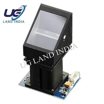 UG LAND INDIA R305 Optical Fingerprint Scanner Sensor Module -Arduino UNO  and Raspberry Pi (Multicolour)
