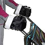 Chinatera Stroller Prams Pushchair Accessory Warm Gloves Winter Windproof Mittens Gloves Hand Muff