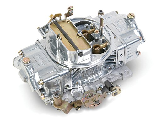- Holley 0-80592S 600 CFM Four Barrel Supercharger Manuel Choke Carburetor