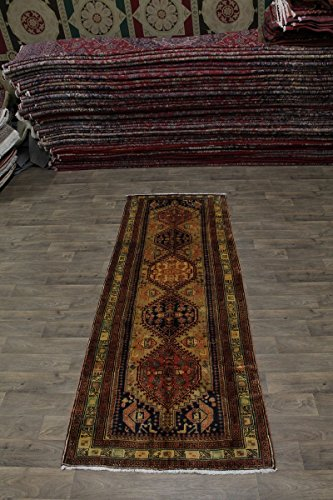 Admin Rugs Nice Hand Knotted Runner Ardabil Meshkin Persian Style Area Rug Oriental Carpet 4X11