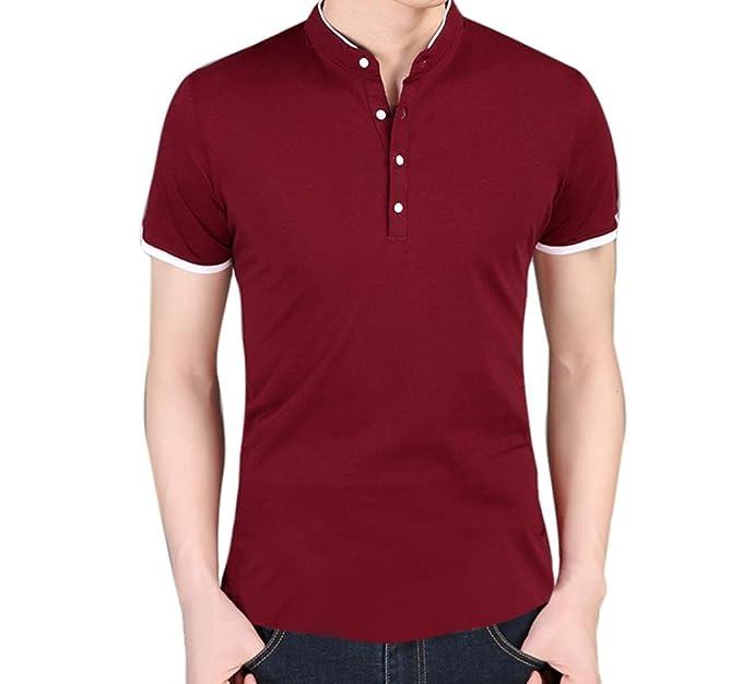 ... Camisetas De Hombre De Verano AIMEE7 Camisas De Hombre De Vestir Camisetas Hombre Manga Corta Basica Camisetas Moda Hombre: Amazon.es: Ropa y accesorios
