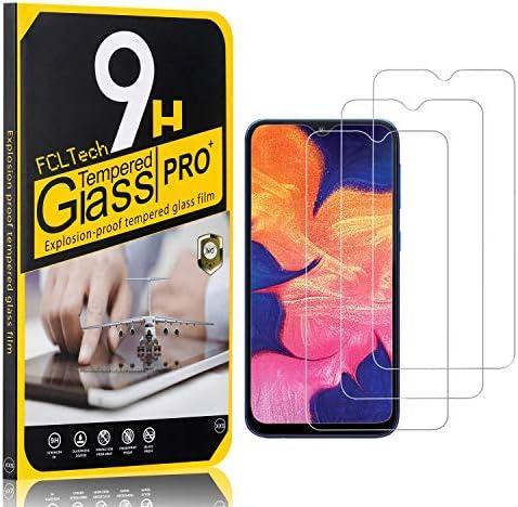 FCLTech 3 Stücke Schutzfolie für Galaxy A10 / Galaxy M10 / Galaxy M20, Ultra-HD Displayschutzfolie für Samsung Galaxy A10 / Galaxy M10 / Galaxy M20 Blasenfrei, Gegen Kratzer