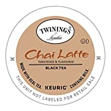 Twinings of London Chai Latte Tea K-cups for Keurig, 12 Count