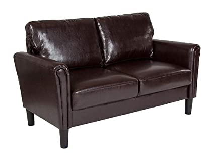 Swell Amazon Com Offex Contemporary Upholstered Loveseat With Gmtry Best Dining Table And Chair Ideas Images Gmtryco