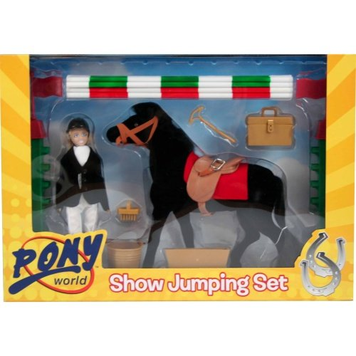 Pony World 1004 - Show Jumping Set 10121
