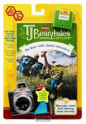 Hasbro Playskool T.J. Bearytales - My Bear-riffic Safari Adventure by Hasbro (Image #1)
