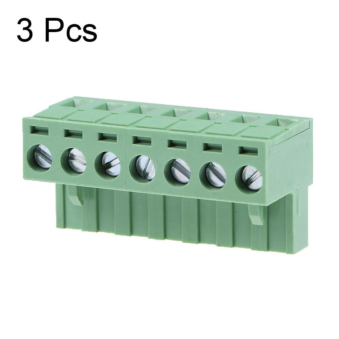 Pack of 100 1722533023-10-N7-D 10 PRE-CRIMP 1858//19 BROWN