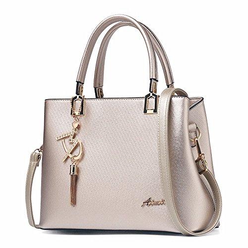 Satchel Gules Bolso Shoulder Moda La Simple Bag Gqfgyyl Oro Marea Lady Luz Single De de 5Rpnxvq