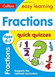 Fractions Quick Quizzes Ages 5-7 (Collins Easy Learning KS1)