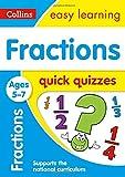 Fractions Quick Quizzes: Ages 5-7