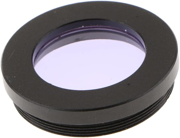 Almencla 1.25 Inch Astronomy Telescope Zoom Eyepiece Lens 7.5mm to 22.5mm Fully Multi-Coated Green Film with Purple Color Filter Clear Wide View